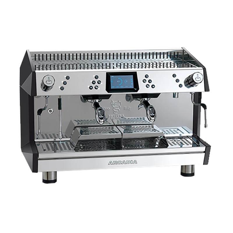 Bezzera ARCADIA DE 2GR Profesyonel Otomatik Dozajlı Espresso Kahve makinesi 2 gruplu(Tall Cup)