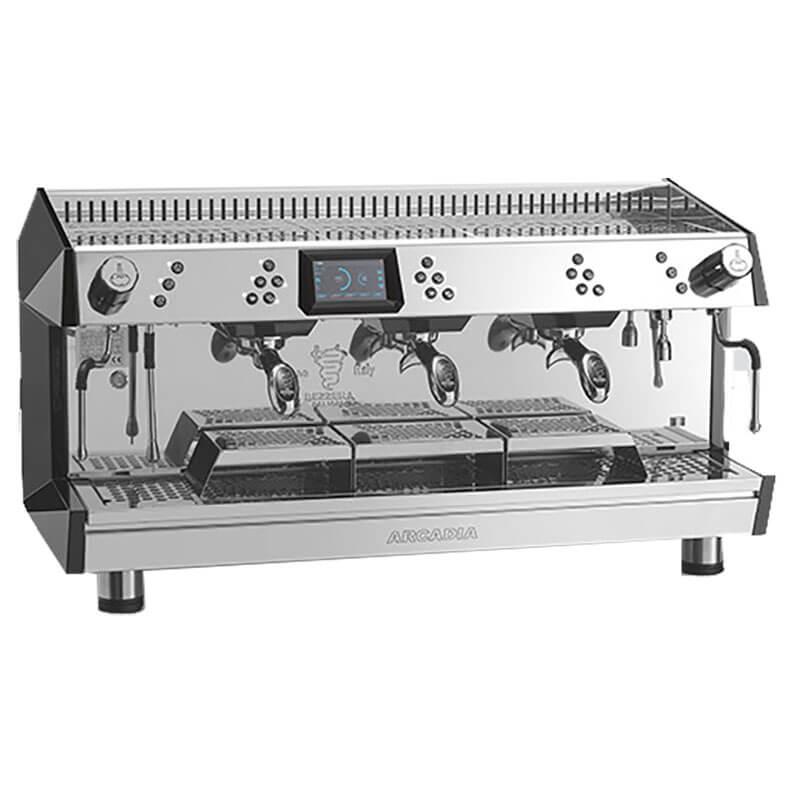 Bezzera ARCADIA DE 3GR Profesyonel Otomatik Dozajlı Espresso Kahve makinesi 3 gruplu(Tall Cup)