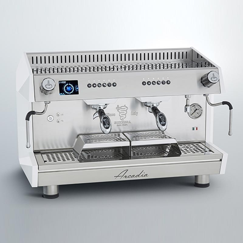 Bezzera ARCADIA DE PID 2GR Profesyonel Otomatik Dozajlı Espresso Kahve makinesi 2 gruplu(Tall Cup)