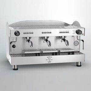 Bezzera B2016-PM 3GR-TC Profesyonel Yarı Otomatik Espresso Kahve makinesi 3 gruplu(Tall Cup)