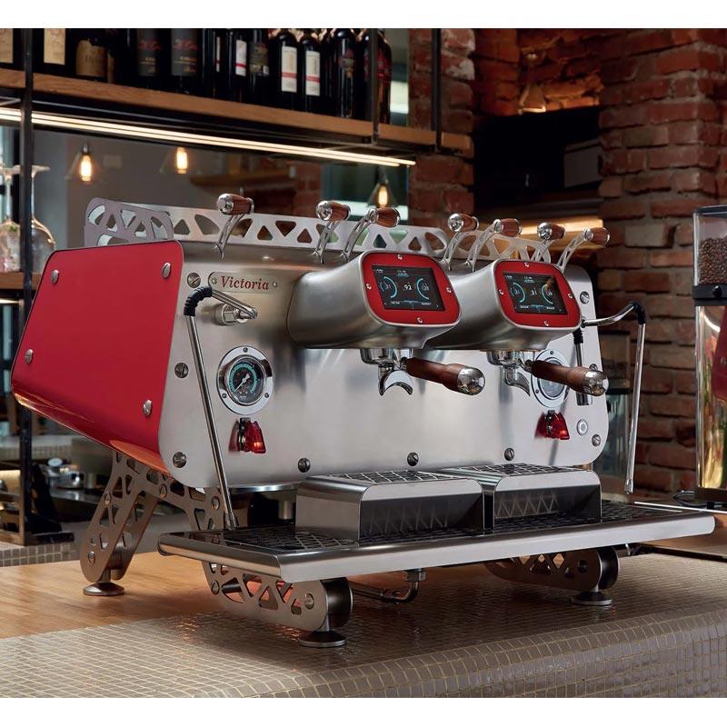 Bezzera VICTROIA Profesyonel Otomatik Dozajlı Espresso Kahve makinesi 2 gruplu(Tall Cup)