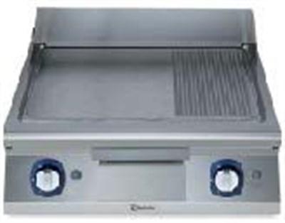 Eletrolux 391059 900 Seri Gazlı Pleyt Izgara Karbon Çelik 1/3 Nervürlü