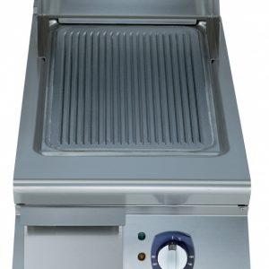 Eletrolux 391068 900 Seri Elektrikli Pleyt Izgara Karbon Çelik Nervürlü