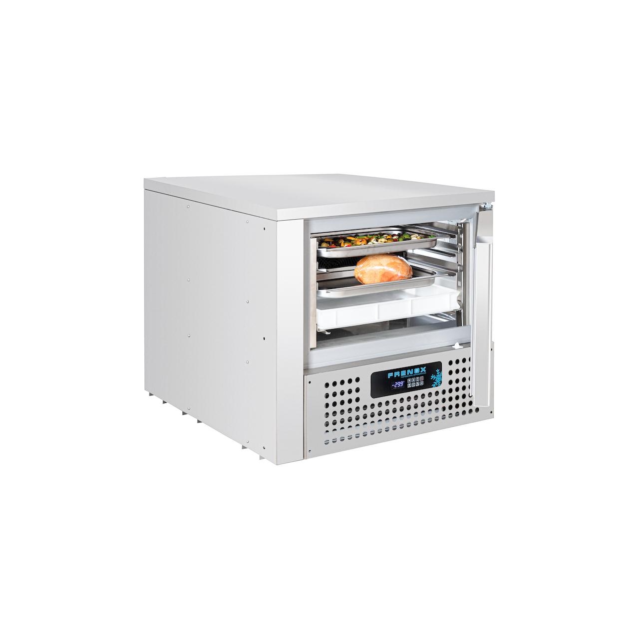 Frenox VBL5-F Premium Line Cihaz Altı Şok Soğutucu & Dondurucu 5 Tepsi(GN1/1 & 40 x 60)