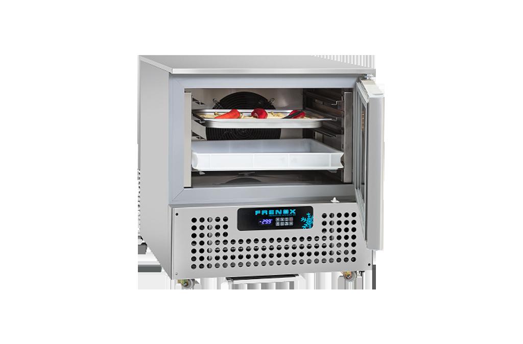 Frenox VBL5 Premium Line Dikey Tip Şok Soğutucu & Dondurucu 5 Tepsi(GN1/1 & 60 x 40)