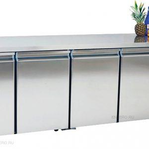 Gtech CGNL4 Kombinasyon Soğutmalı Tezgah Tip Buzdolabı 4 Kapılı
