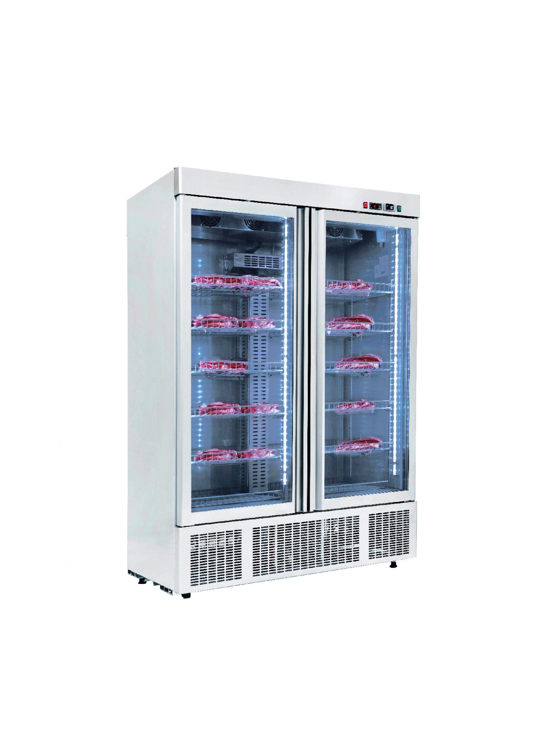Gtech DR13-G Dry Age Dik Tip Dry Age Buzdolabı 2 Cam Kapılı(Paslanmaz)
