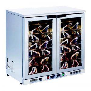 Gtech DR250-G Dry Age Dik Tip Dry Age Buzdolabı 2 Cam Kapılı(Paslanmaz)