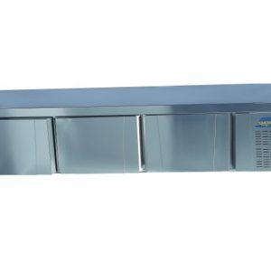 Gtech TPG-74L Set Altı Buzdolabı 4 Kapılı