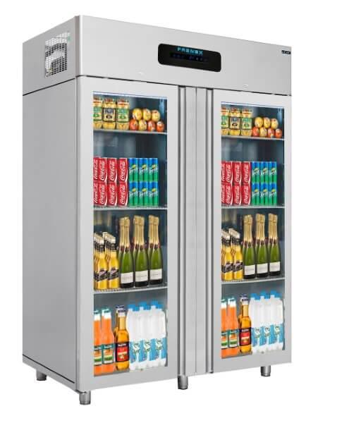 Gtech VN14-G Basic Seri Dik Tip Buzdolabı 2 Cam Kapılı