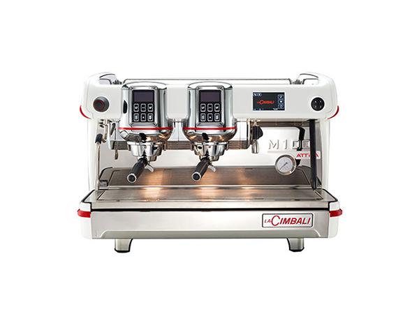 LA CIMBALI M 100 ATTIVA HDA DT/2 Profesyonel Otomatik Dozajlı Espresso Kahve makinesi 2 gruplu(Standart)