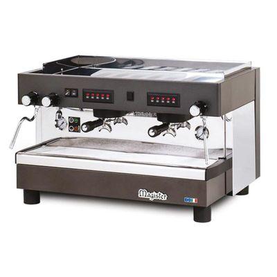 Magister GT-2V-TC Profesyonel Otomatik Dozajlı Espresso Kahve makinesi 2 gruplu(Tall Cup)