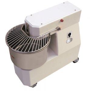PizzaGroup IR22-2V Kalkar Kafalı Spiralli Kalkar Kafalı Hamur Yoğurma Makinesi (22lt )
