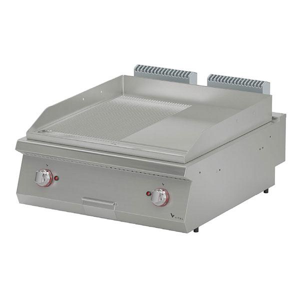 Vital EPI9020SR 900 Seri Elektrikli Pleyt Izgara 1/2 Düz + 1/2 Nervürlü