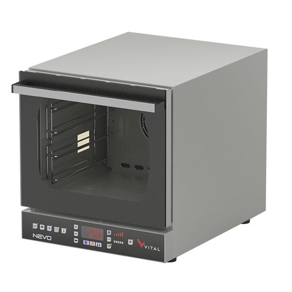Vital NEVO-02E Elektrikli Dijital Konveksiyonel Patisserie Fırın 4 Tepsi