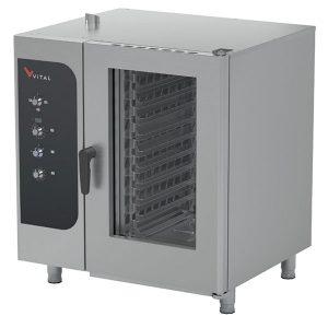 Vital PRIME101E PRIME Elektrikli Buharlı Konveksiyonel Fırın 10xGN1/1