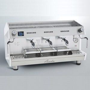 Bezzera B2016-DE 3GR-TC Profesyonel Otomatik Dozajlı Espresso Kahve makinesi 3 gruplu(Tall Cup)