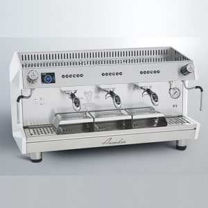 Bezzera ARCADIA DE PID 3GR Profesyonel Otomatik Dozajlı Espresso Kahve makinesi 3 gruplu(Tall Cup)